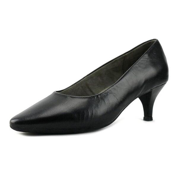 Aerosoles Stardom Women W Pointed Toe Patent Leather Black Heels