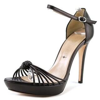 Good on Heels Palmira   Open Toe Leather  Platform Heel