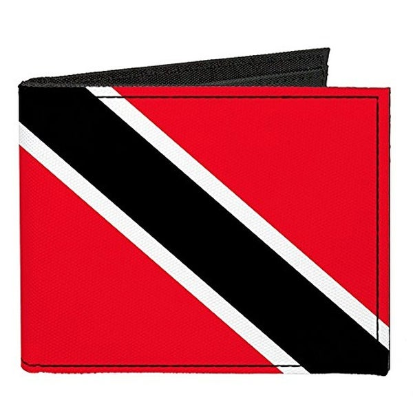 Buckle-Down Canvas Bi-fold Wallet - Trinidad and Tobago Flag Accessory
