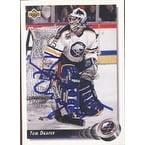 Tom Draper Buffalo Sabres 1992 Upper Deck Autographed Card This item comes with a certificate of authenticity from Au