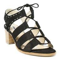 Dune London Womens Ivanna Black Sandals Size 5