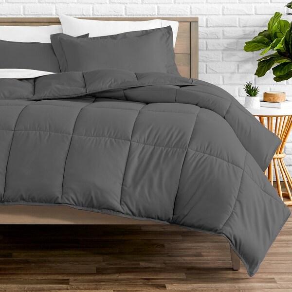 Bare Home Hypoallergenic All-Season Down Alternative Comforter Set. Opens flyout.