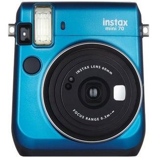 Fujifilm 16496081 Instax Mini 70 Instant Camera, Blue