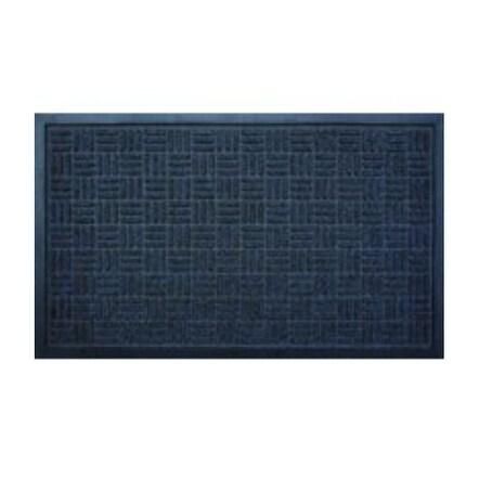 "Homebasix 06ABSHE-11-3L Blue Gateway Floor Mat, 18"" x 30"""