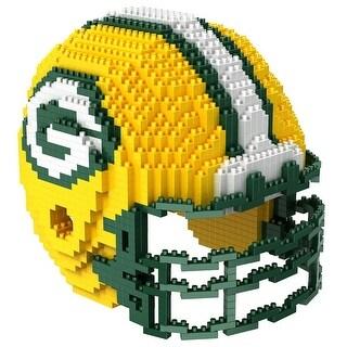 Green Bay Packers 3D NFL BRXLZ Bricks Puzzle Team Helmet