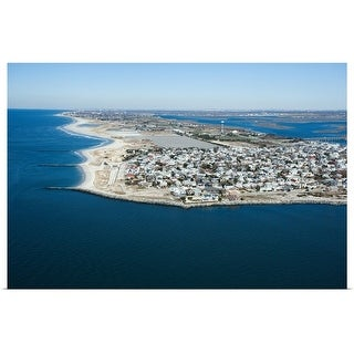 """""""Aerial view of Long Island, New York"""" Poster Print"""