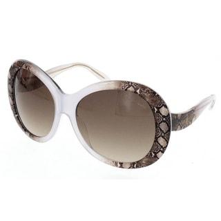 Roberto Cavalli RC 734T/S 27F FULL MOON Beige Oversized Sunglasses