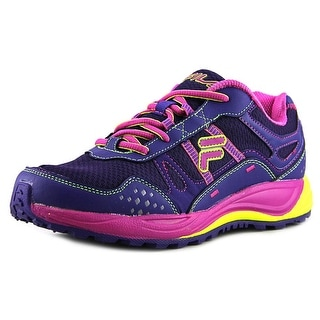 Fila Statique Women Round Toe Synthetic Purple Running Shoe