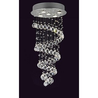 Shop Gallery Crystal Raindrop Light Chandelier Free Shipping - Chandelier raindrop crystals
