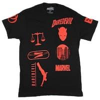 Marvel Daredevil Motocross Design Men's T-Shirt