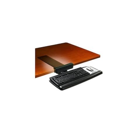 3M Tool-Free Install Knob Adjust Keyboard Tray Tool-Free Install Knob Adjust Keyboard Tray