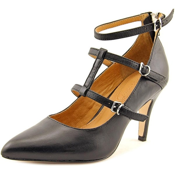 Corso Como Carter Women Pointed Toe Leather Black Heels
