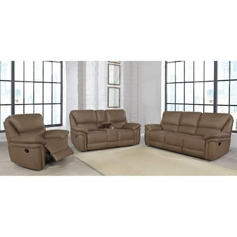 Breton 3-piece Upholstered Tufted Living Room Set