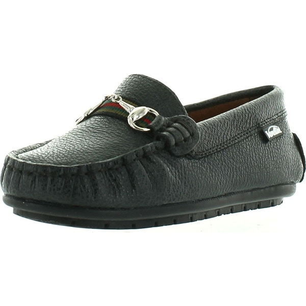 e07eb89a23b Venettini Boys 55-Toby Designer Buckle Slip On Casual Dress Loafers Shoes