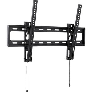 """Telehook TH-3065-LPT Telehook Wall Mount for TV - 32"" to 65"" Screen Support - 88 lb Load Capacity - Steel - Black"""