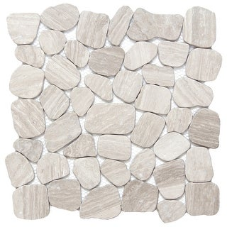 Emser Tile M05CULT1212MOH Cultura - Pebble Mosaic Floor and Wall Tile - Textured - N/A