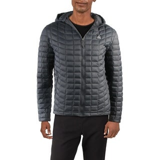 Link to Reebok Men's Lightweight Quilted Warm Winter Hooded Packable Puffer Jacket Similar Items in Women's Outerwear