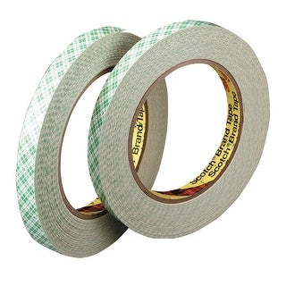 Scotch 410M Double-Sided Paper Tape, 1 Inch x 36 Yards
