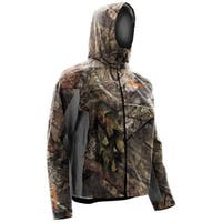 Nomad CYA Mossy Oak Break Up Country Medium Packable Rain Hoodie Jacket