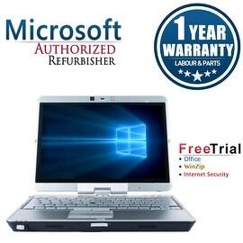 Refurbished HP EliteBook 2740P 12.1'' Laptop Intel Core i5-520M 2.4G 4G DDR3 160G Win 10 Pro 1 Year Warranty