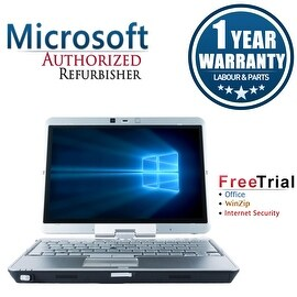 Refurbished HP EliteBook 2740P 12.1'' Laptop Intel Core i5-520M 2.4G 4G DDR3 160G Win 7 Pro 64-bit 1 Year Warranty