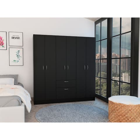 Tuhome Mitu six Doors Armoire