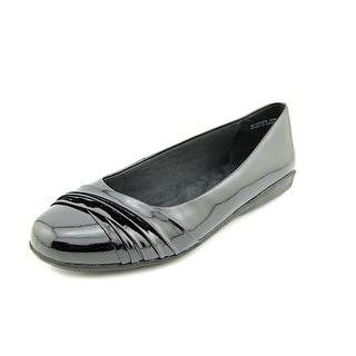 Walking Cradles Flick Women  Round Toe Synthetic Black Flats