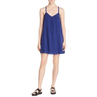 Joie Womens Casual Dress Silk Pleated