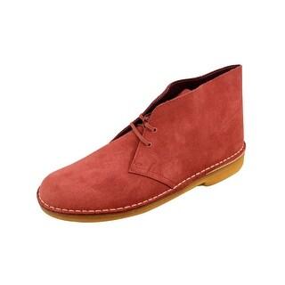 Clarks Men's Desert Boot Brick Red 69978