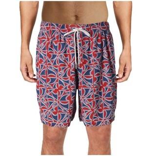Quiksilver Mens Printed Summer Swim Trunks