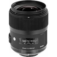 Sigma 35mm f/1.4 DG HSM Art Lens for Canon DSLR Cameras - Black