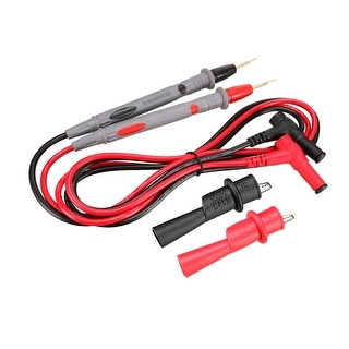 Test Leads with Copper Probe and Alligator Clips, 20A , 4-in-1 Set - 20a,type 5 - 20A,TYPE 5