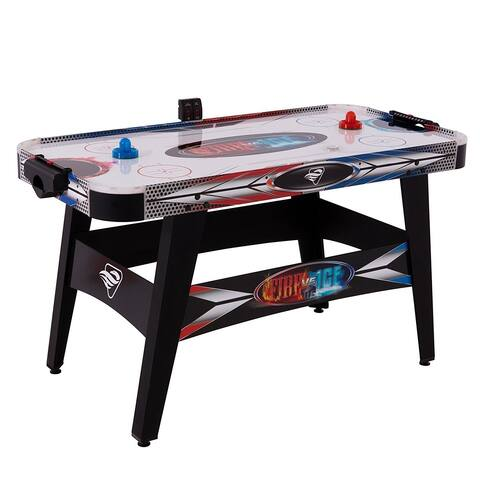 "Triumph Fire 'n Ice LED Light-Up 54"" Air Hockey Table / 45-6060W - Black"