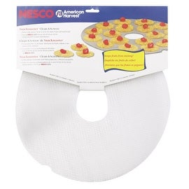 Nesco LM-2-6 Clean-A-Screen Dehydrator Accessory, Set Of 2