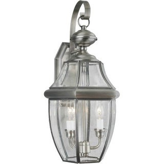 Forte Lighting 1301-02 Outdoor Wall Sconce from the Exterior Lighting Collection