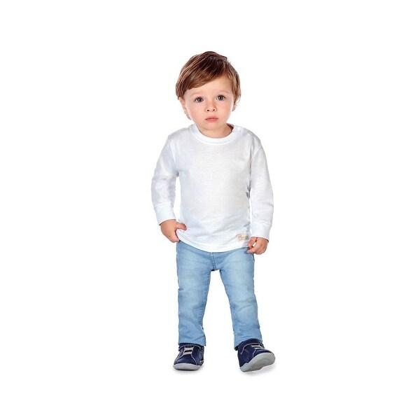 Baby Boy Long Sleeve T-Shirt Classic Tee Newborn Infant Pulla Bulla 3-12 Months