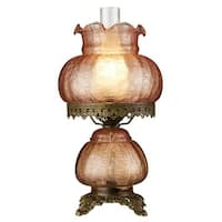 Design Toscano  Rose Court Victorian-Style Hurricane Table Lamp