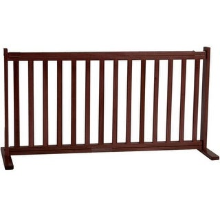 Dynamic Accents - 20 Inch All Wood Large Free Standing Gate -