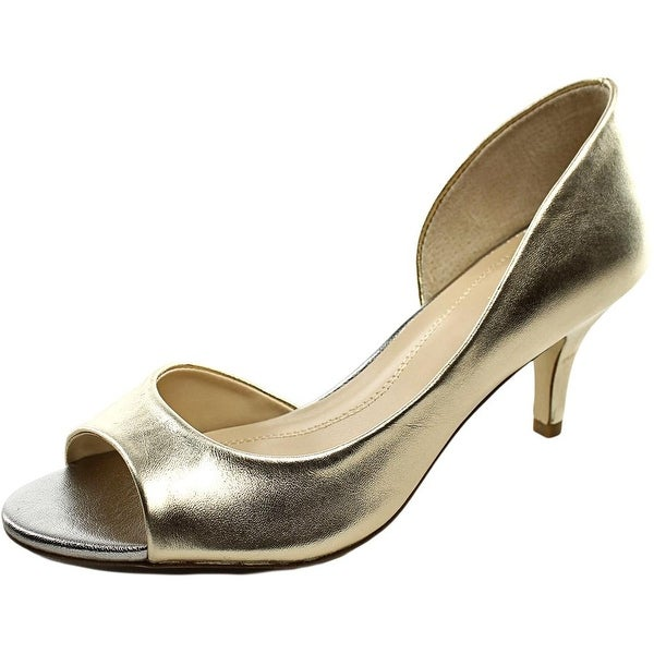 Tahari Race   Open-Toe Synthetic  Heels