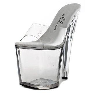 Ellie 821-Vanity Women Open Toe Synthetic Platform Heel