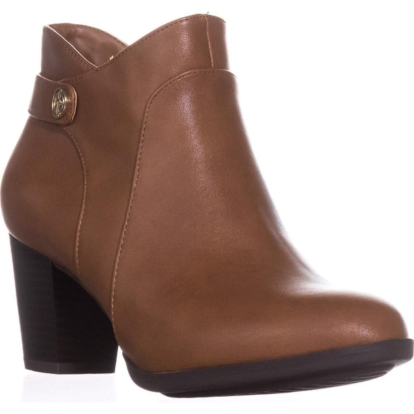 GB35 Abalina Casual Ankle Boots, Chestnut - 6.5 us