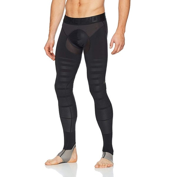 4a22bdc008 Shop Nike Solid Black Mens Size Small S Activewear Training Leggings ...