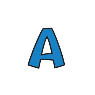 Trend Enterprises Playful Ready Letters 4 in Combo Pack, Uppercase/Lowercase, Blue, Set of 221