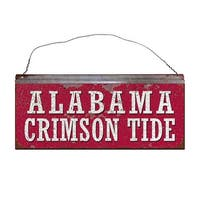 University of Alabama Crimson Tide Small Tin Sign