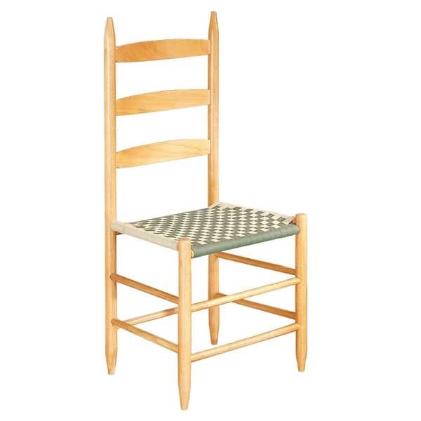 Kitchen Chairs Ladderback Green