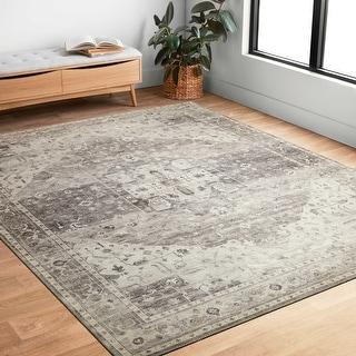 Link to Alexander Home Venetian Printed Distressed Area Rug Similar Items in Rugs