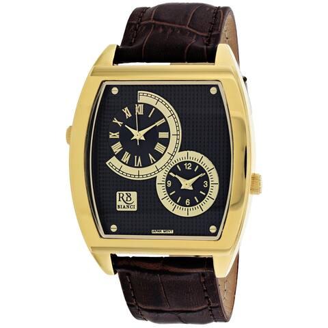 Roberto Bianci Men's Benzo RB0743 Black Dial Watch