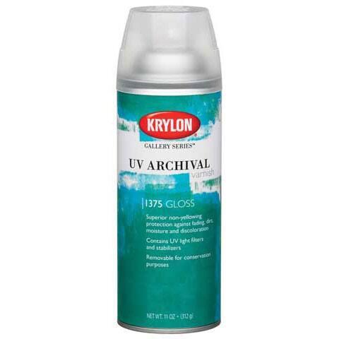 Krylon - UV Archival Varnish - Gloss