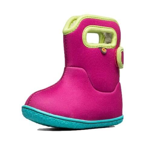 Bogs Outdoor Boots Kids Baby Solid Waterproof Insulated