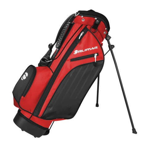 Orlimar ATS Junior Boys' Red/Black Series Stand Bag (Ages 9-12)